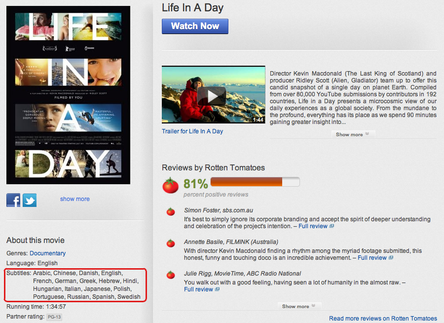 Official YouTube Blog: Captions for all: more options for