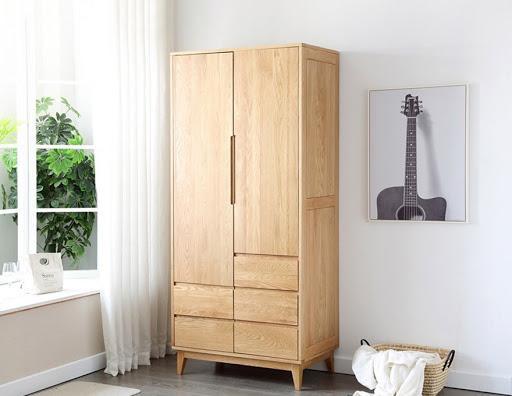 Tủ áo gỗ tự nhiên sồ