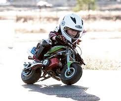 Feature: Children on motorbikes