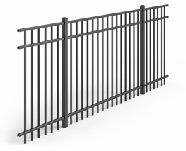 Traditional Style of aluminum fence