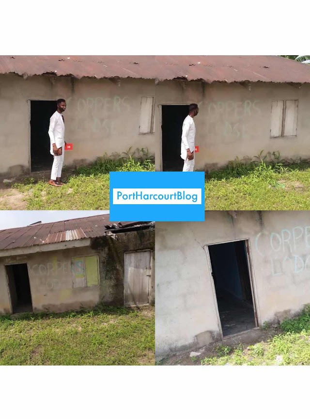 CORPERS GIVEN DILAPIDATED BUILDING AS CORPER'S LODGE IN IKWERRE LGA