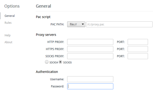 Firefox - connect to an authenticating sock5 proxy? - Ask Ubuntu