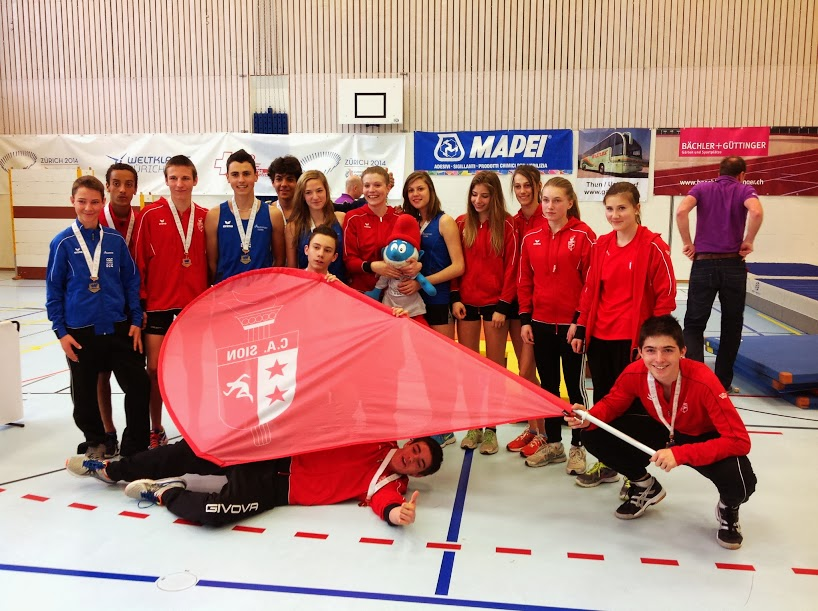 2014-Finale suisse UBS Kids Cup Team-Thun
