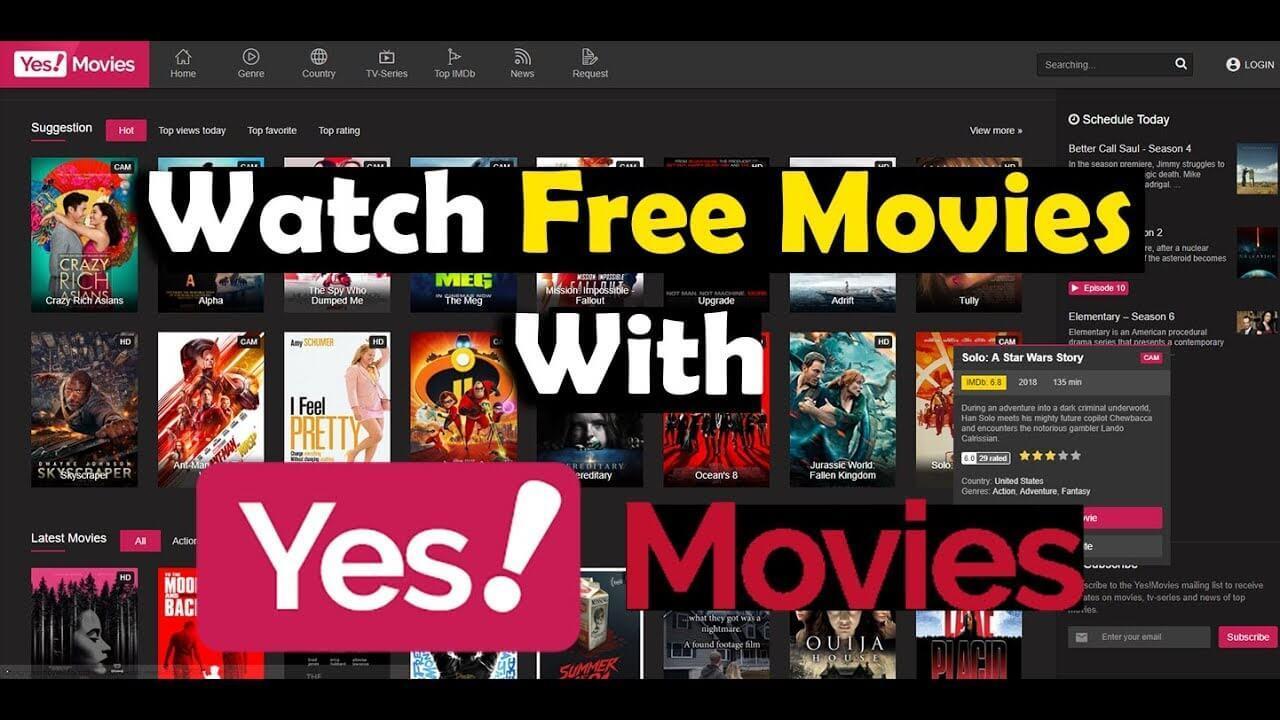 YesMovies -Watch Free Movies Online - Best Yesmovies Alternatives