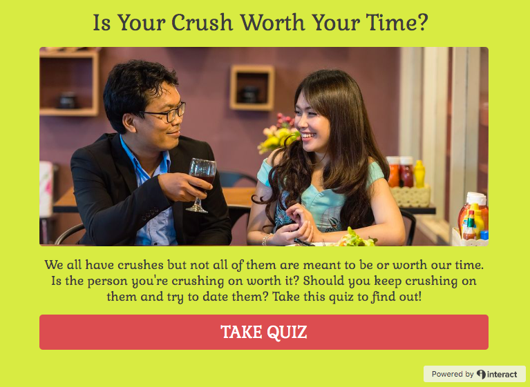 Is your crush worth your time quiz cover