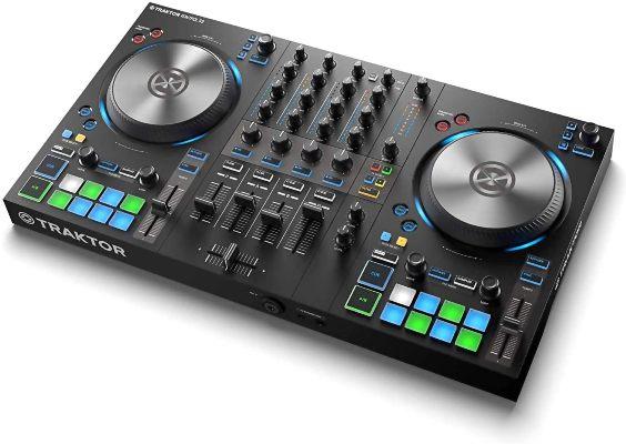 Native Instruments Traktor Kontrol S3– Best Budget Digital DJ Controller For Beginners Under 500 Dollars  (Editors Choice)