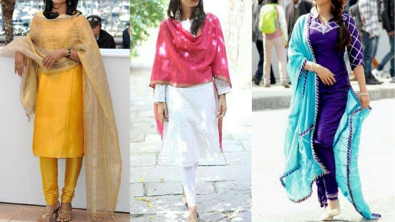How to wear salwar kameez to work 5