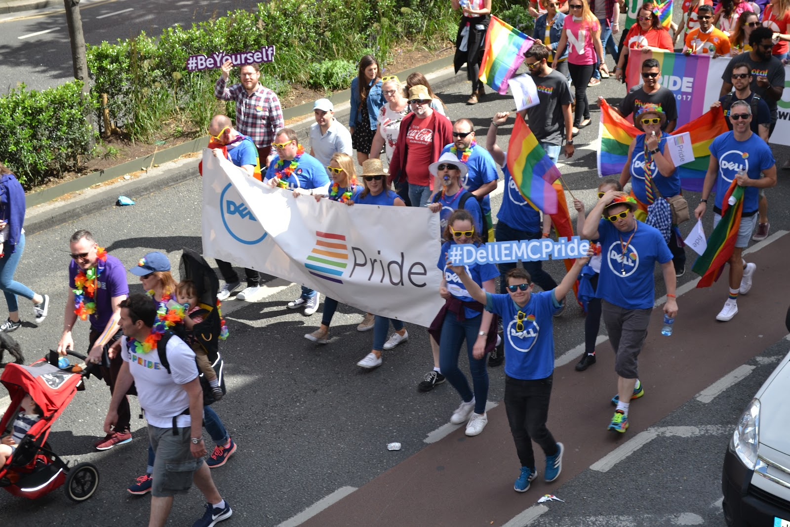 Dell in Dublin Pride 2017