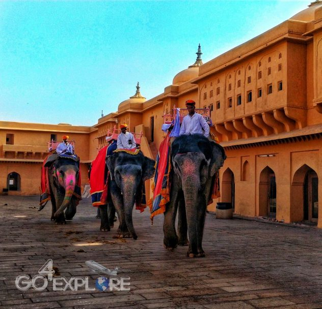 Amer Fort, Jaipur - Solo Travel in India