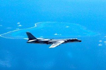Chinese H-6K bomber