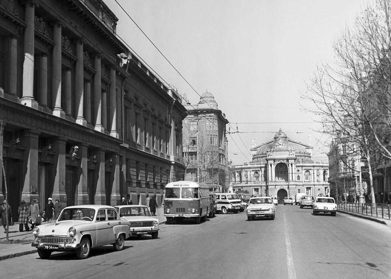 Одесса 1970-х. Фото: ТАСС