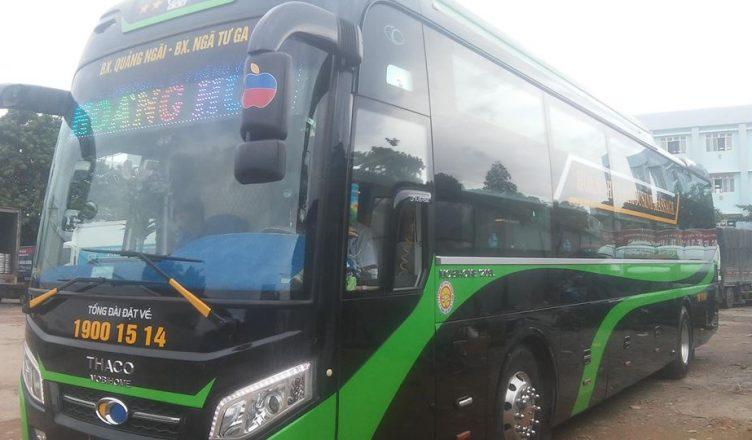 Xe limousine đi Quảng Ngãi: Hoàng Huy