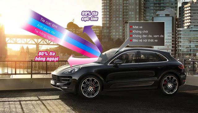 Phim dán cách nhiệt chống nóng cho xe hơi đã có mặt tại Auto365