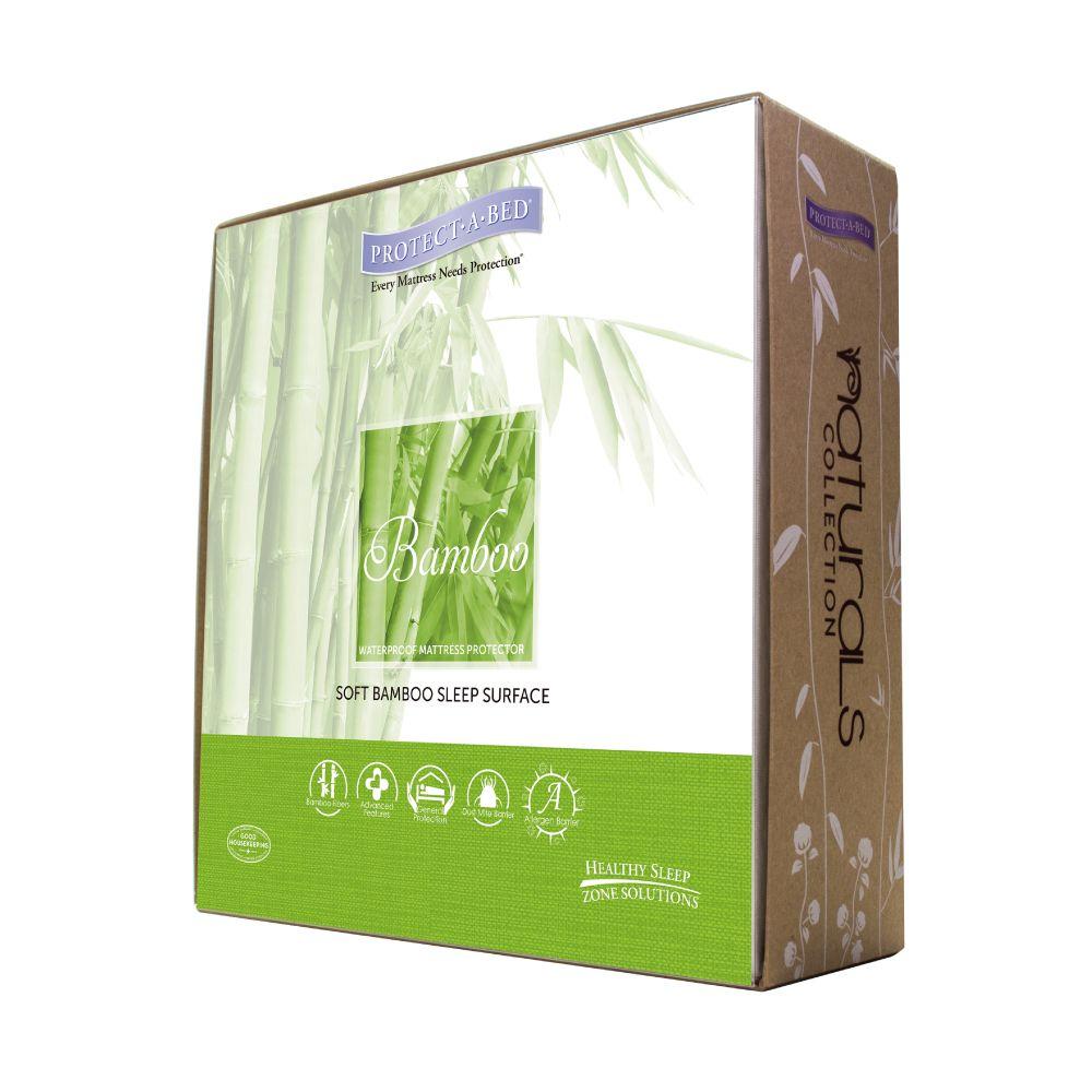 寢之堡Bamboo竹纖維床包式保潔墊