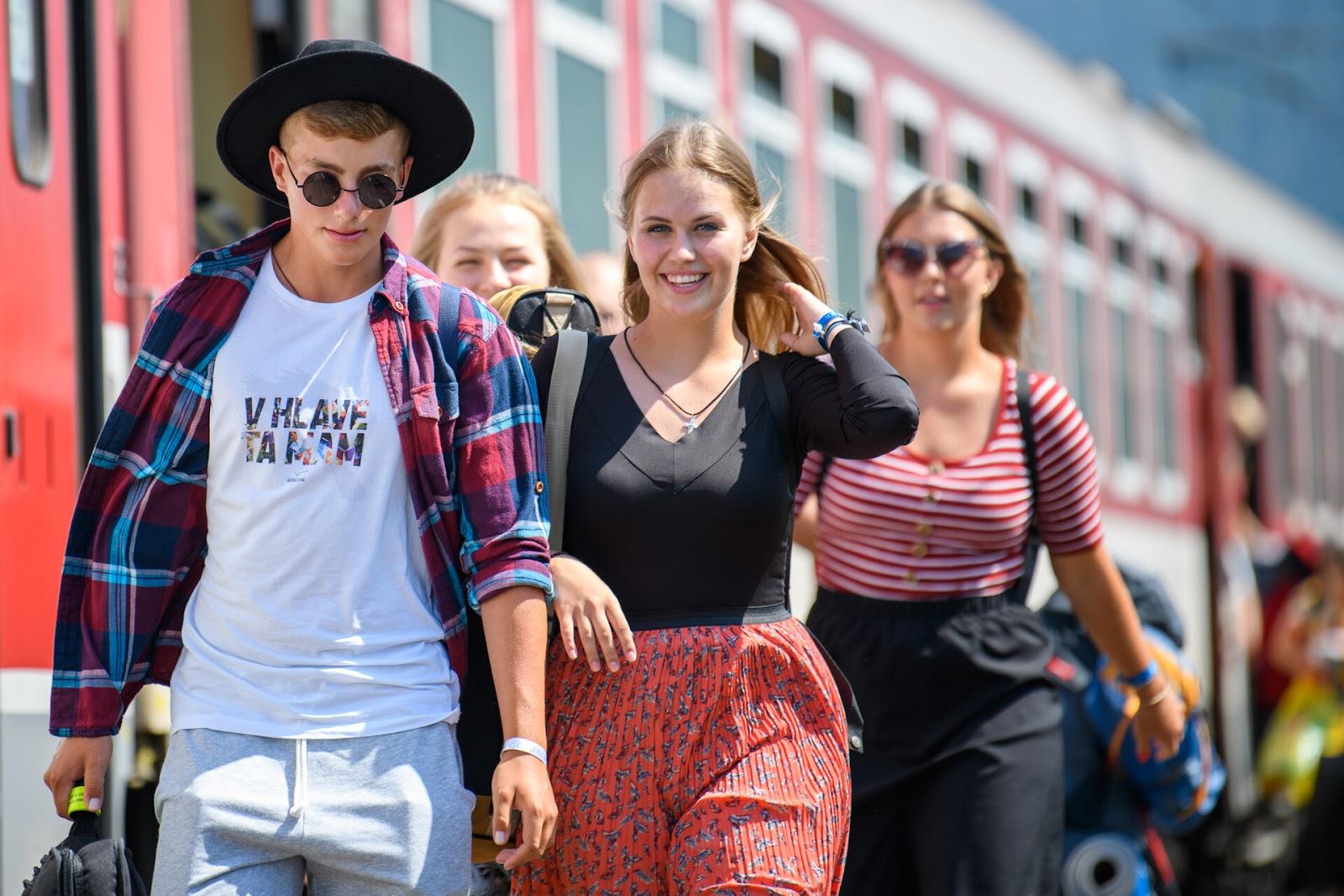 Letní festivaly pro mládež