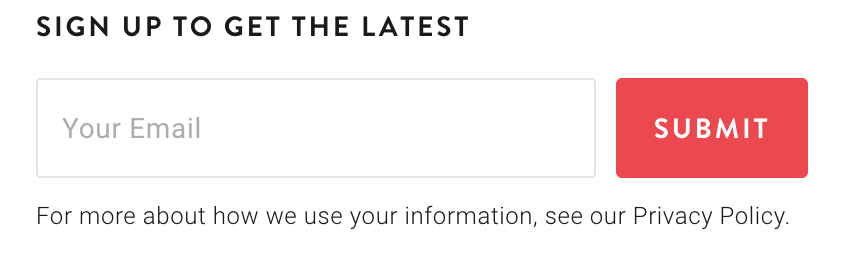 Peloton sign-up process