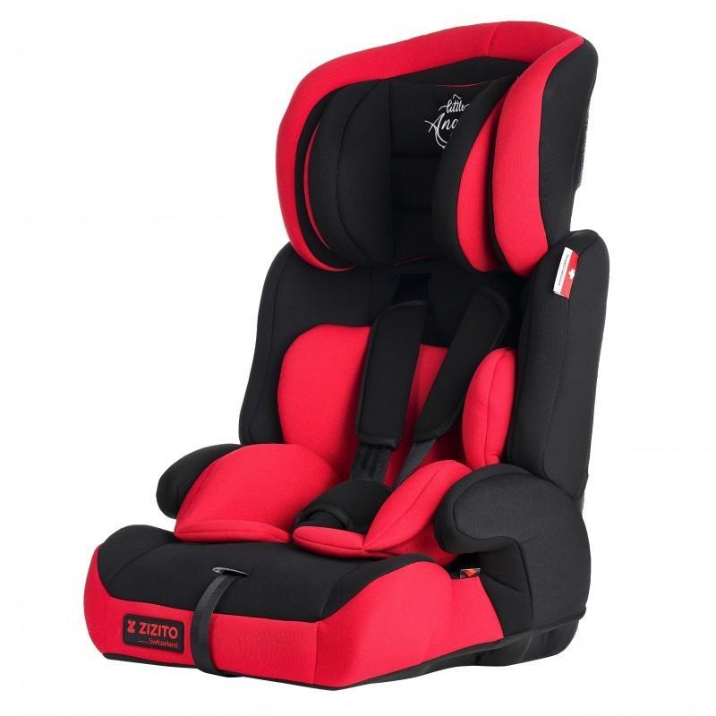 ZIZITO Стол за кола, 9-36 кг. (Група 1/2/3) DIONIS, TUV сертификат, 5-точков колан