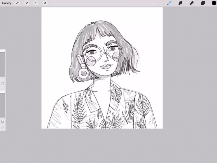 draw a sketch first