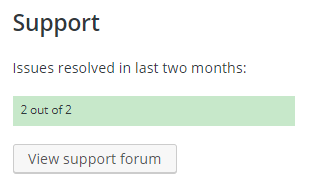 Support Example