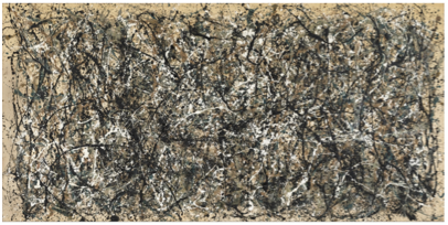 Jackson Pollock (1912-1956)  One: Number 31, 1950