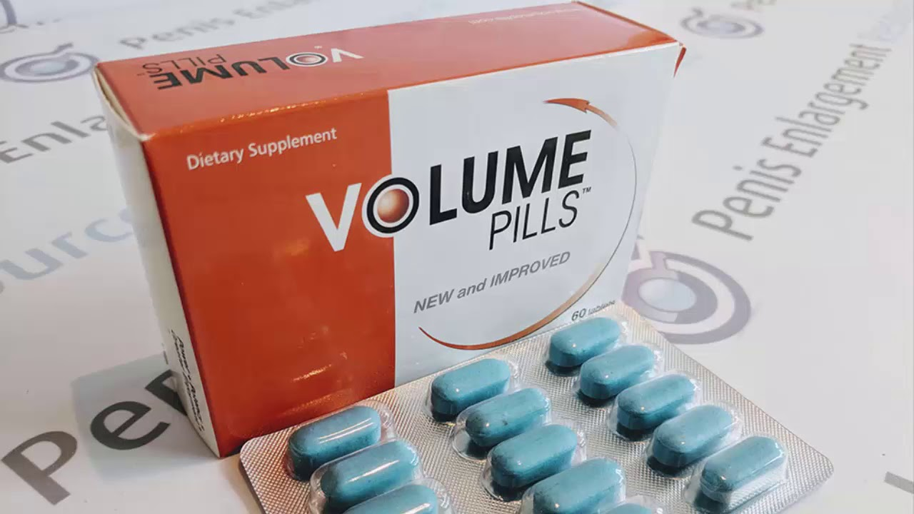 What Are Volume Pills?