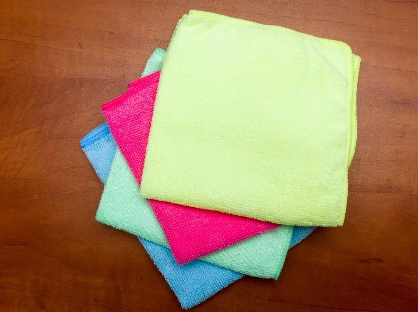 must have cleaning supplies - cloths