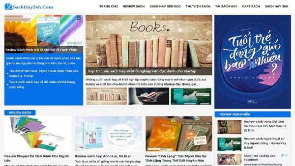 hình ảnh Top 3 trang web review sách chất lượng tốt nhất Việt Nam - số 1