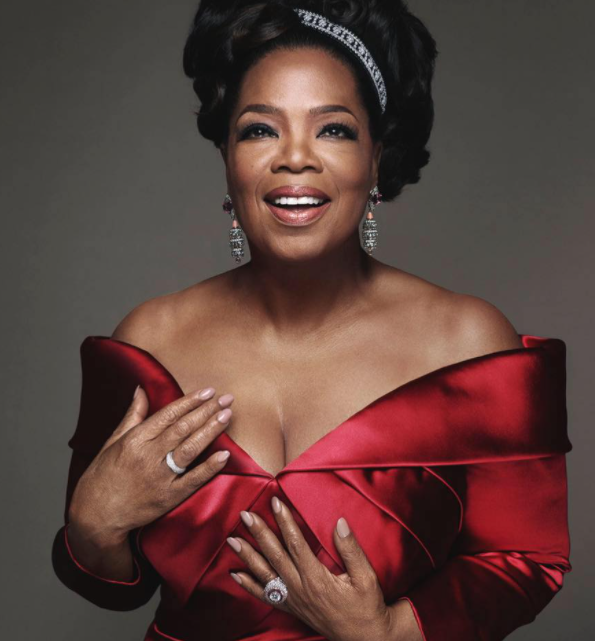 Oprah Winfrey just opened up about the bombshell Prince Harry-Meghan Markle interview