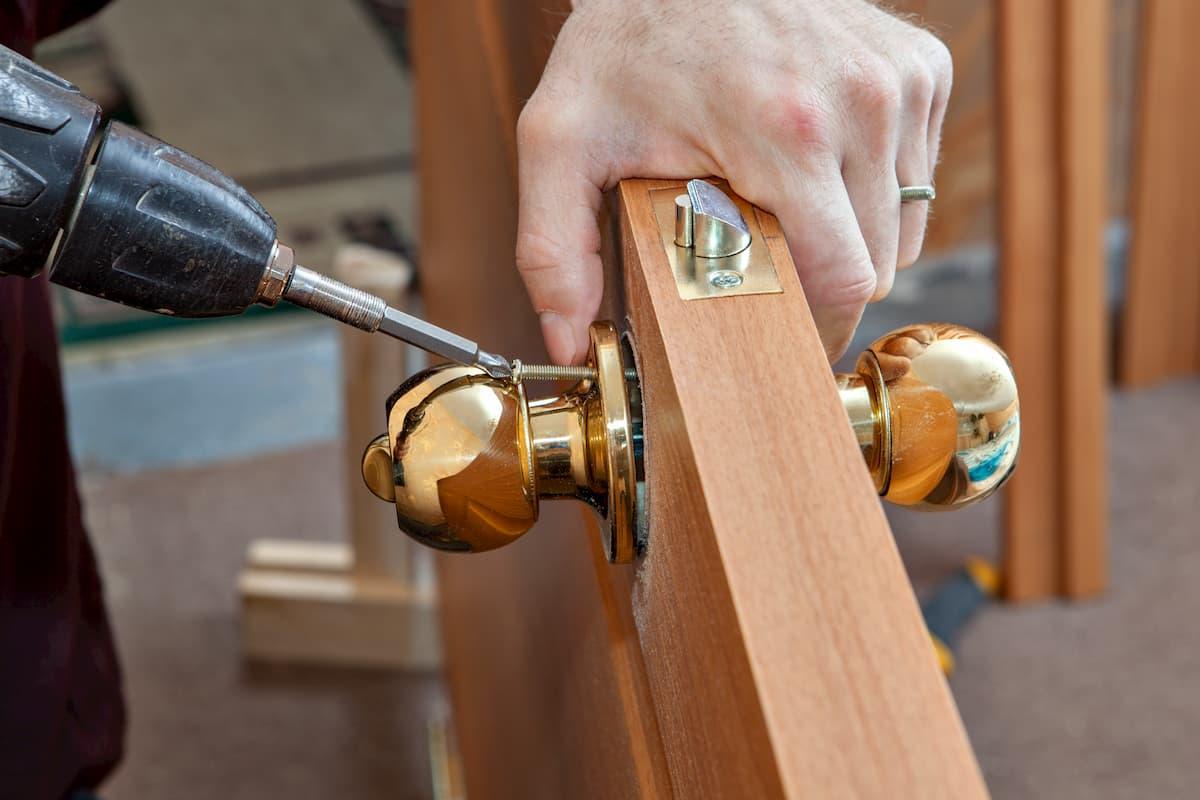 Mr. Handyman front door repair