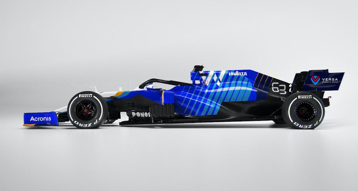 Williams displays 2021 F1 car with revised livery – Motorsport Week