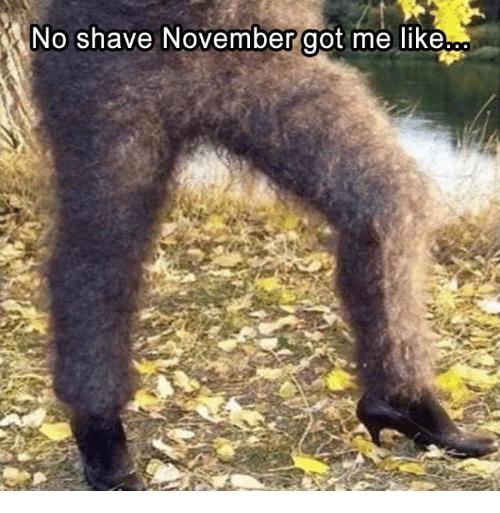 Image result for no shave november legs