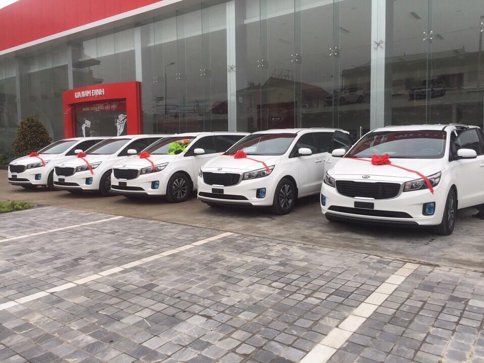 Dàn xe Sedona Tấn Hưng đi Nam Định từ Hà Nội