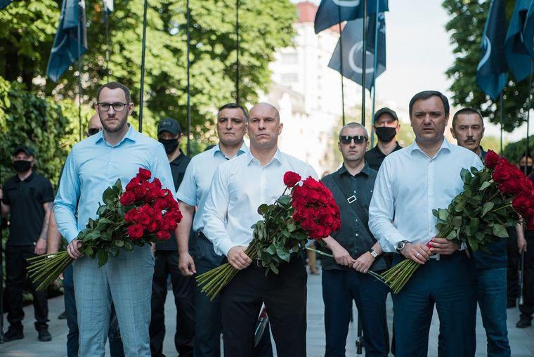 Артем Марчевский, Эльхан Валиев, Илья Кива и Виктор Черный