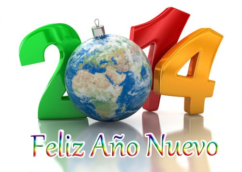 Feliz año nuevo 2014 - 2013