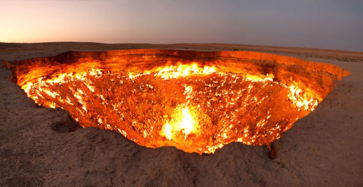 porta para o inferno