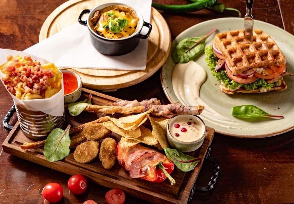 Вкусные белорусские блюда в ресторане «Гости» в Минске