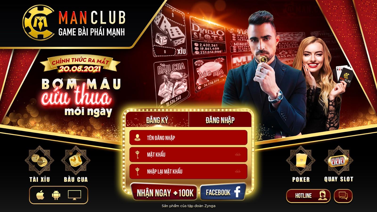 Man Club - Game bài phái mạnh 2