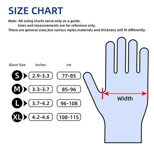 Measure from the inside of the thumb to the end of the hand to measure mountain bike grip width