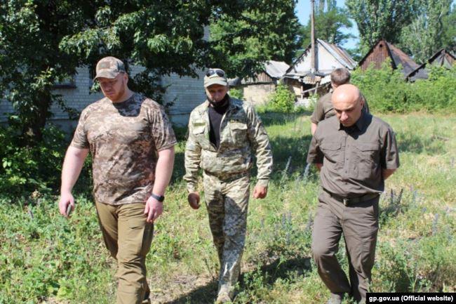Заступник генерального прокурора України Гюндуз Мамедов на Донбасі