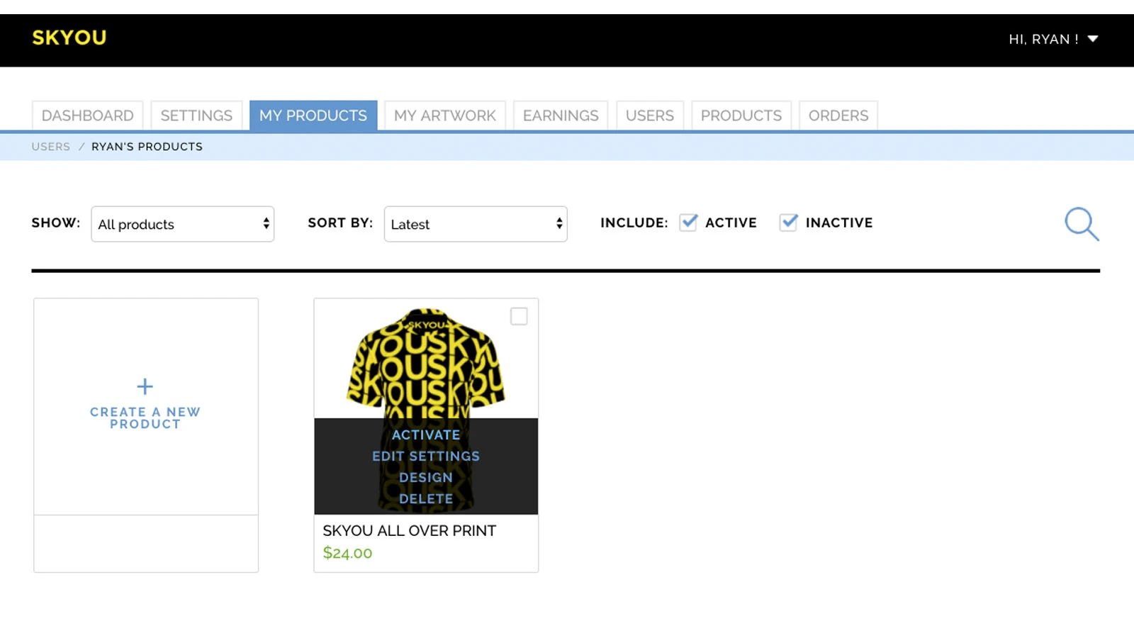 Shopify app product importer
