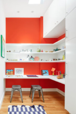 This Playroom Combines Ikea Kitchen Cabinetry And Custom Shelves The If Built Would Have Cost About 12 000 Version