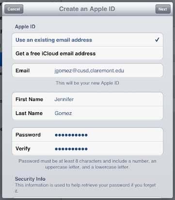 Teacher iOS Orientation - OLD tech PD site