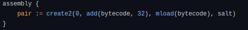 Deterministic Par Address Code
