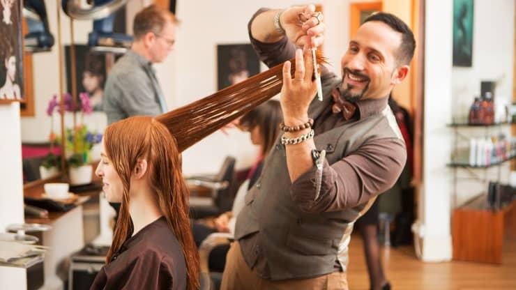 Stressful Jobs : hair stylist