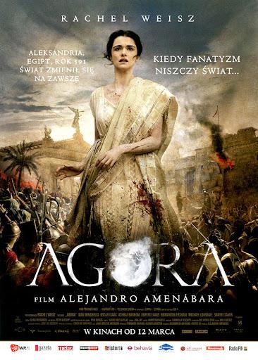 Przód ulotki filmu 'Agora'