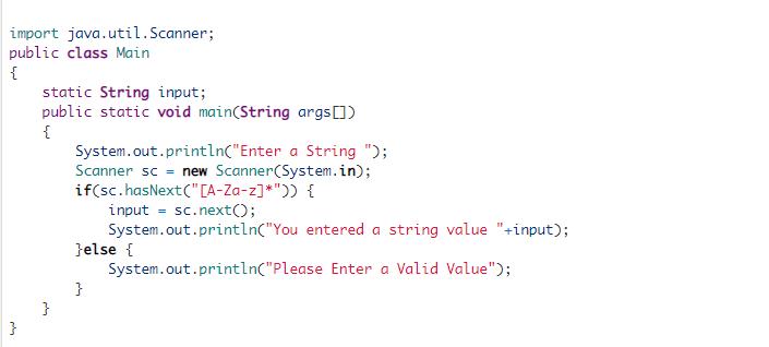 Java language programming