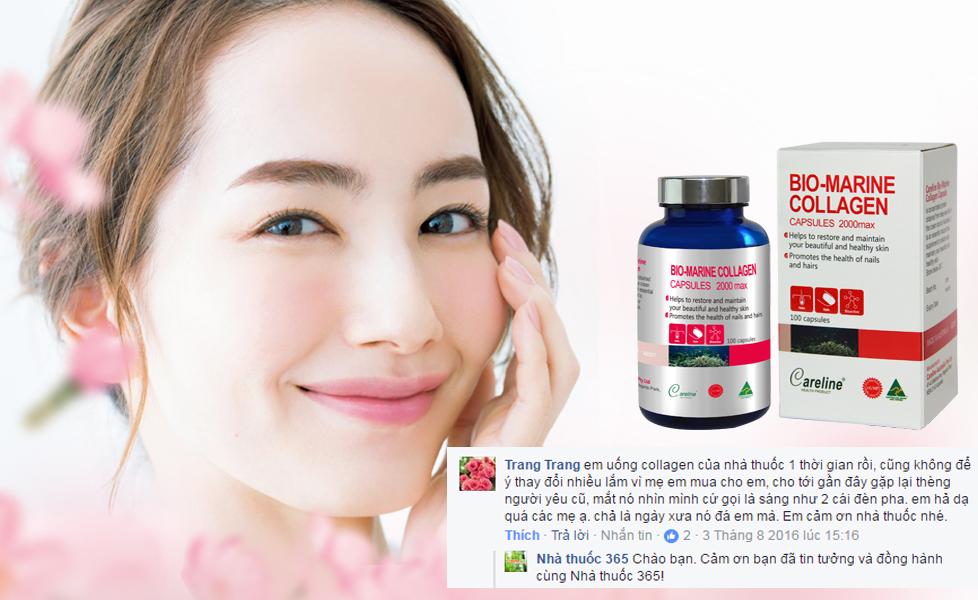 Dùng viên uống collagen như thế nào để không bị phản tác dụng?-bio-marine collagen
