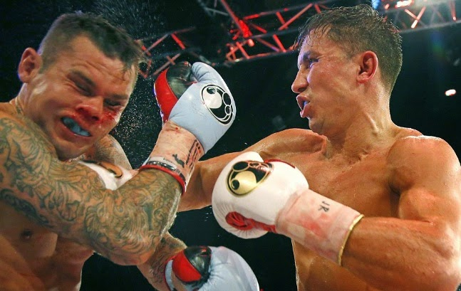 Gennady Golovkin vs Martin Murray Replay Video Highlights