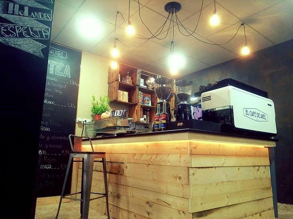 Té y café en el menú de El Café del Axel.