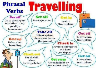 Ngoại ngữ là hành trang vào đời: Phrasal Verb on Holiday